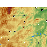 Nearby Forecast Locations - Xinhuang - карта