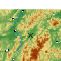 Nearby Forecast Locations - Xupu - карта