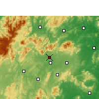 Nearby Forecast Locations - Xinshao - карта