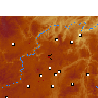 Nearby Forecast Locations - Xiuwen - карта
