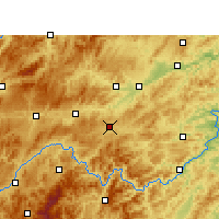 Nearby Forecast Locations - Sansui - карта
