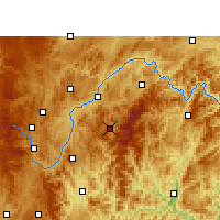 Nearby Forecast Locations - Leishan - карта