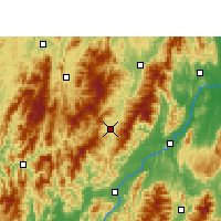 Nearby Forecast Locations - Ziyuan - карта
