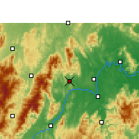 Nearby Forecast Locations - Dongan/HUN - карта