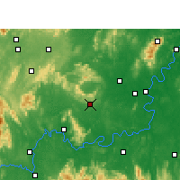 Nearby Forecast Locations - Qidong - карта