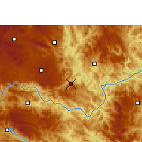 Nearby Forecast Locations - Ceheng - карта