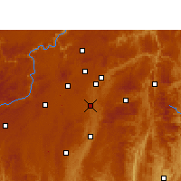 Nearby Forecast Locations - Huaxi - карта