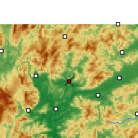 Nearby Forecast Locations - Renhua - карта