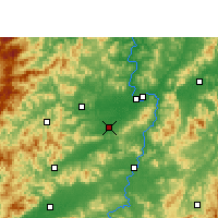 Nearby Forecast Locations - Nankang - карта