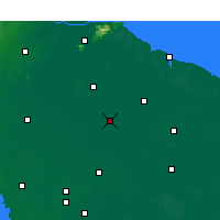 Nearby Forecast Locations - Guannan - карта