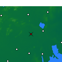 Nearby Forecast Locations - Suining/JSU - карта