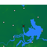 Nearby Forecast Locations - Sihong - карта