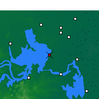 Nearby Forecast Locations - Hongze - карта