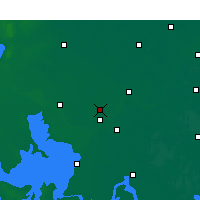 Nearby Forecast Locations - Huaiyin Xian - карта