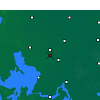 Nearby Forecast Locations - Qingjiang - карта
