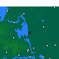 Nearby Forecast Locations - Gaoyou - карта