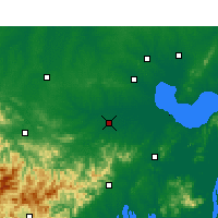 Nearby Forecast Locations - Shucheng - карта