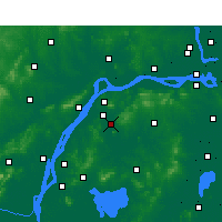 Nearby Forecast Locations - Jiangning - карта