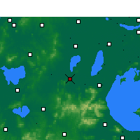 Nearby Forecast Locations - Liyang - карта