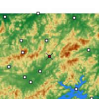 Nearby Forecast Locations - Jixi/ANH - карта