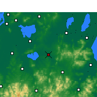 Nearby Forecast Locations - Langxi - карта