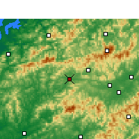 Nearby Forecast Locations - Цимэнь - карта