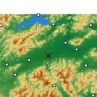 Nearby Forecast Locations - Longyou - карта