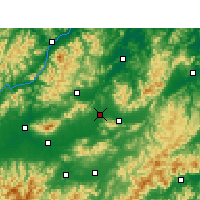 Nearby Forecast Locations - Иу - карта