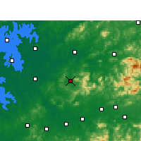 Nearby Forecast Locations - Wannian - карта