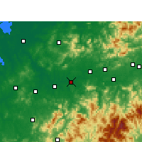 Nearby Forecast Locations - Guixi - карта