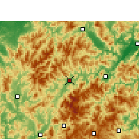 Nearby Forecast Locations - Лунцюань - карта