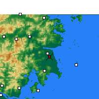 Nearby Forecast Locations - Taizhou/ZHJ - карта