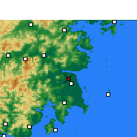 Nearby Forecast Locations - Hongjia - карта