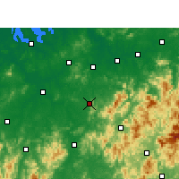 Nearby Forecast Locations - Jinxi/JXI - карта