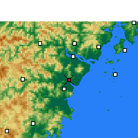 Nearby Forecast Locations - Rui'an - карта