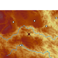 Nearby Forecast Locations - Longlin - карта