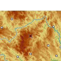Nearby Forecast Locations - Leye - карта