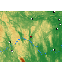 Nearby Forecast Locations - Xincheng/GXA - карта