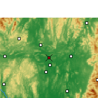 Nearby Forecast Locations - Shatang - карта