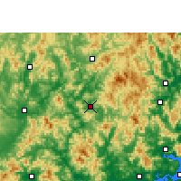 Nearby Forecast Locations - Dapu - карта