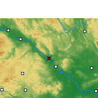 Nearby Forecast Locations - Pingguo - карта