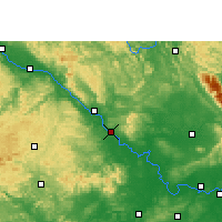 Nearby Forecast Locations - Longan - карта