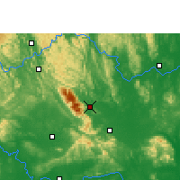 Nearby Forecast Locations - Shanglin - карта