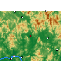 Nearby Forecast Locations - Xindu/GXA - карта