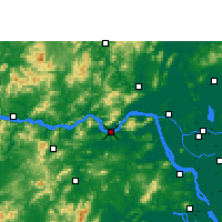 Nearby Forecast Locations - Gaoyao - карта