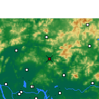 Nearby Forecast Locations - Conghua - карта