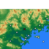 Nearby Forecast Locations - Чаочжоу - карта