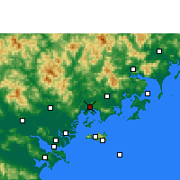 Nearby Forecast Locations - Raoping - карта