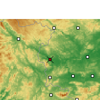 Nearby Forecast Locations - Longzhou - карта