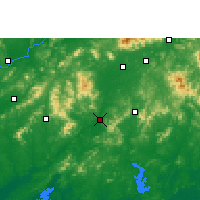 Nearby Forecast Locations - Bobai - карта
